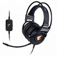 Gigabyte GP-AORUS H5 AORUS H5 Headset [Head-band, Gaming, Binaural, 20Khz, 100 dB, 32 O, 3 m, Black